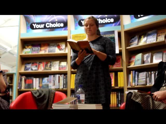 Laura Williams reads from Mark's Fortunes in Nine Parts