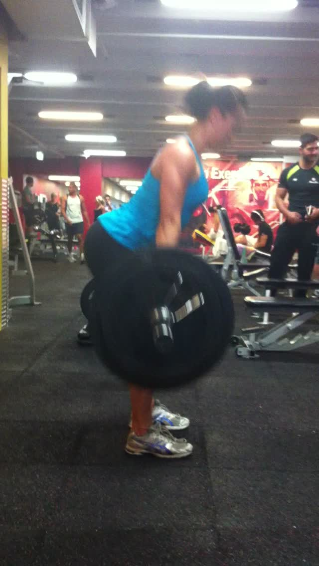 90kg dead lift for 3