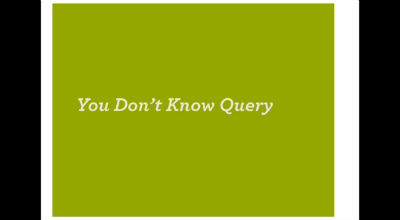 Andrew Nacin: WP_Query / WordPress in Depth