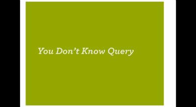 Andrew Nacin: WP_Query / WordPress in Depth