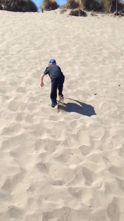 Trent on the Dunes