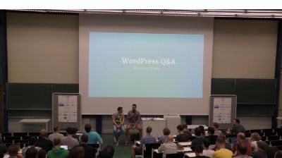 Dominik Schilling, Konstatin Obenland: WordPress Q and A
