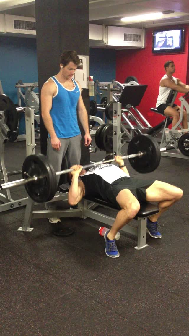 100kg bench july 10