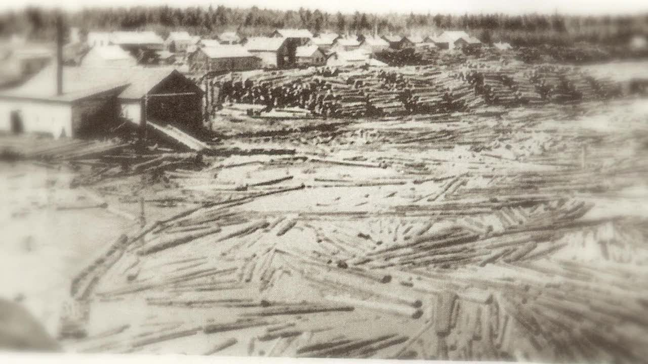 Lumber Mill at Raber Bay