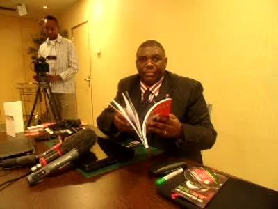 African Press International video Part 2: Dr David Nyiekorach-Matsanga addressing the press at the ICC on the Kenya case