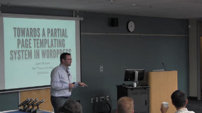 Zack Tollman: Towards A Partial Page Templating System In WordPress
