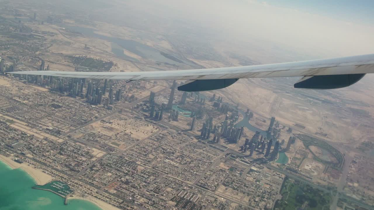A birds eye view of Dubai