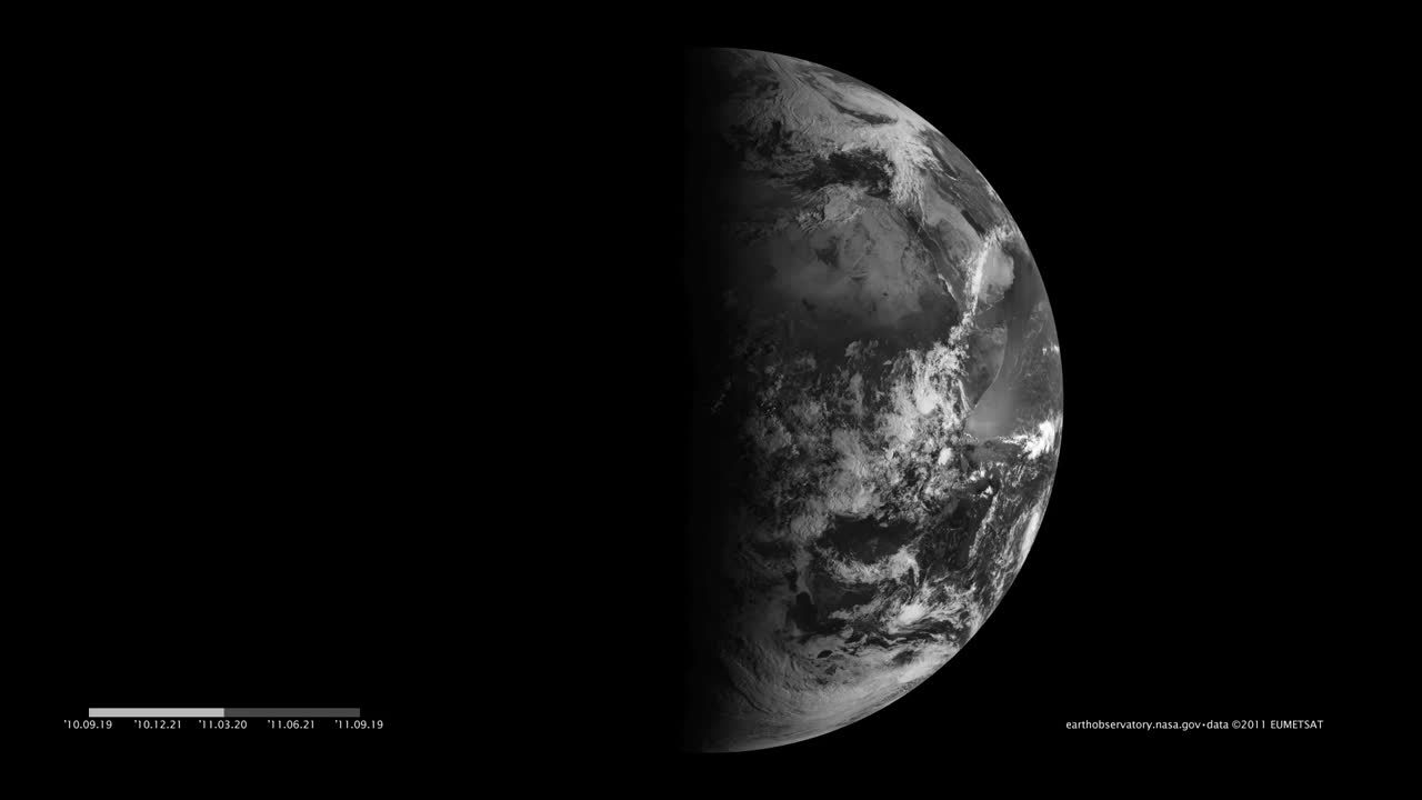 Earth's Seasons Viewed from EUMETSAT