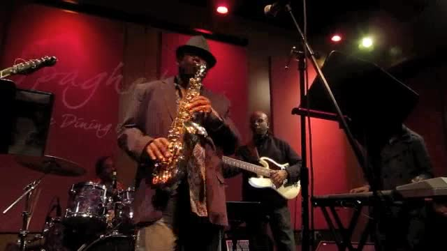 Rodney Taylor, the opener, January 13, 2013, Spaghettini, Seal Beach, CA