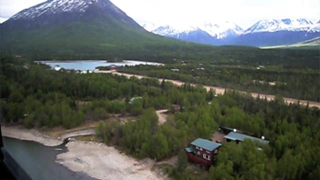Port Alsworth &#8211; Lake Clark &#8211; Fly By