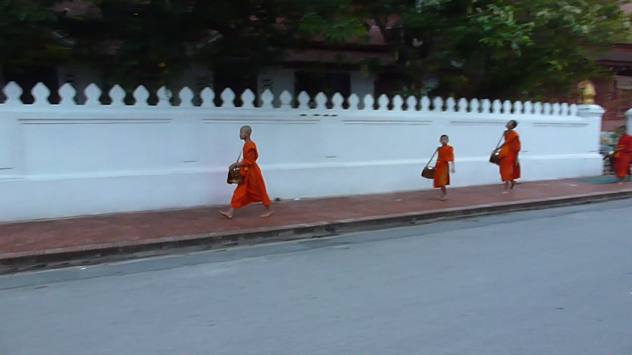 The Luang Prabang walk