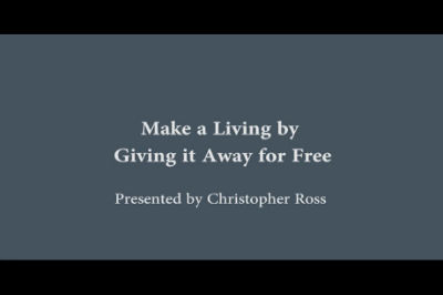 WC Toronto 2011 – Make a Living by Giving it Away for Free