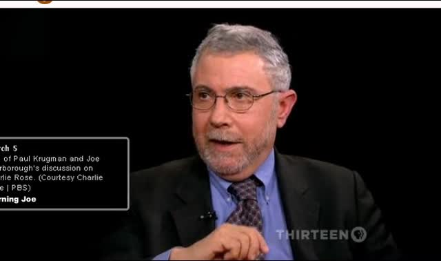 PBS &#8211; Discussion Excerpts &#8211; Scarbarough and Krugman