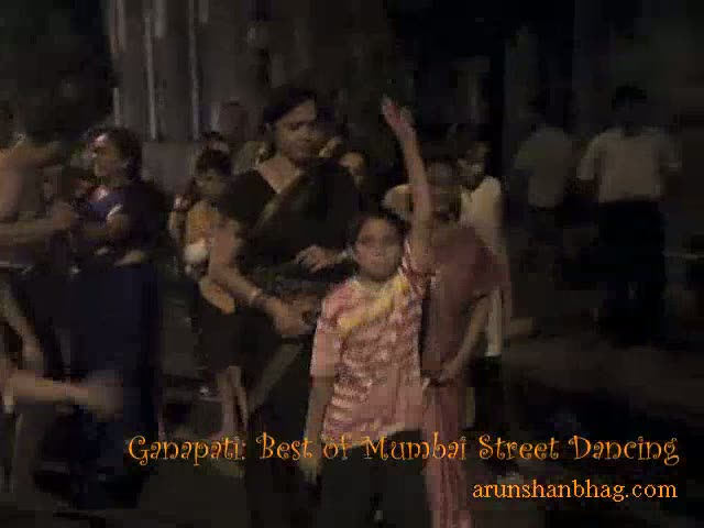 Ganapati: Street Dancing Mumbai Ishtyle