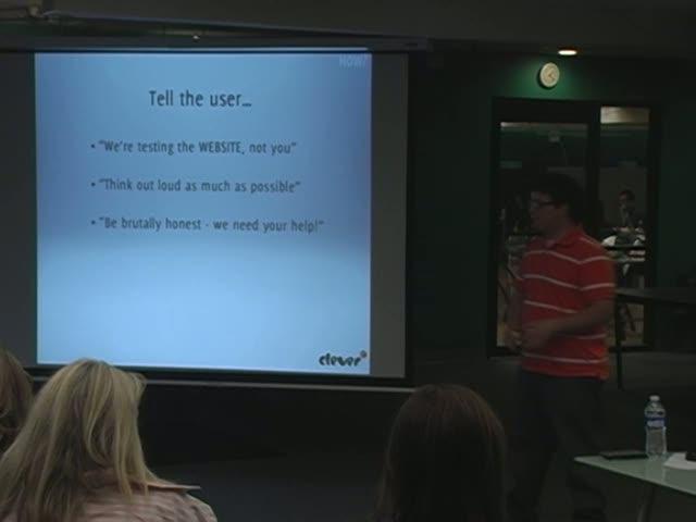 Steve Martin: DIY Usability Testing