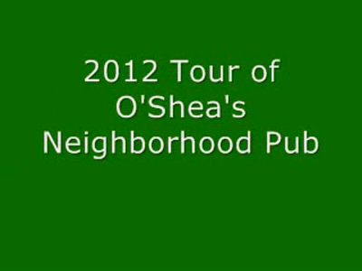 2012 Tour of O'Shea's Neighborhood Pub