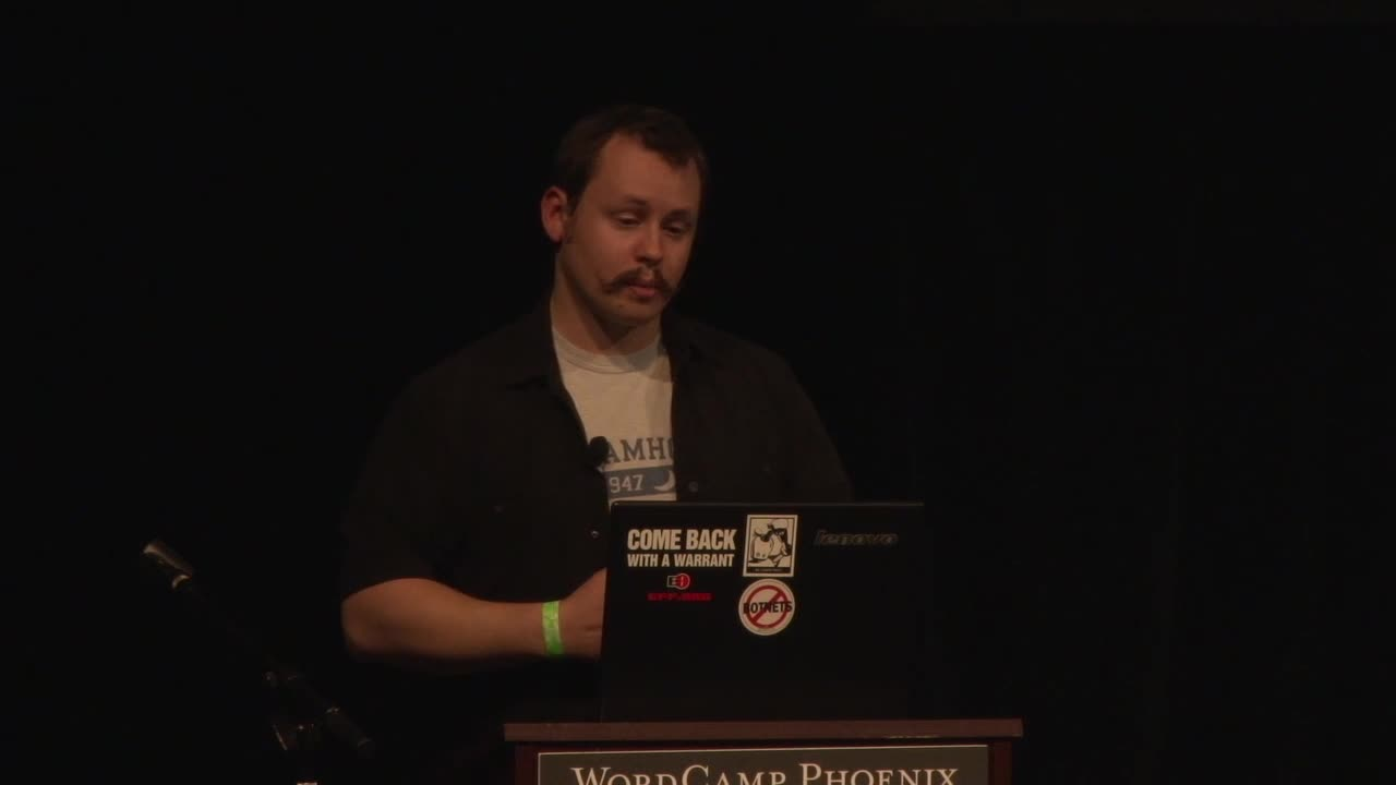 Robert Rowley: WP Security 101