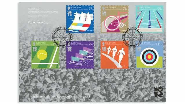 Paul Smith Isle Of Man Stamps
