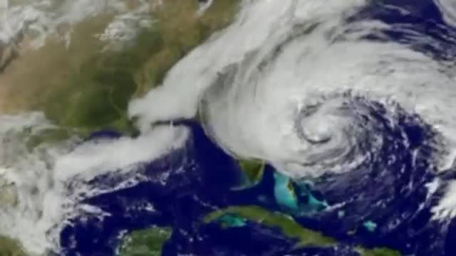 Superstorm Sandy captured in Nasa timelapse animation – video   World news guardian.co.uk
