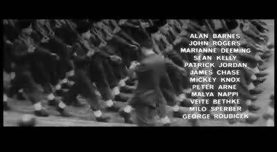 Saul Bass title sequence &#8211; The victors (1963)