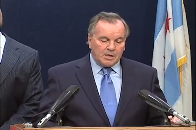 Chicago&#8217;s Mayor Daley Resigns