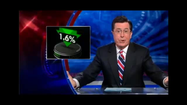 Colbert Nation Stephen Colbert Good News Bad News