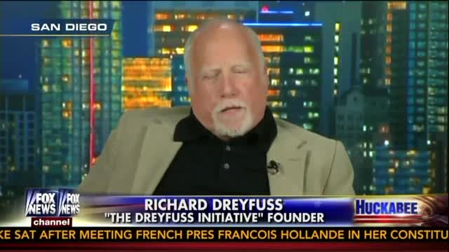 Richard Dreyfuss Passion About The Constitution  American Exceptionalism Should Fire Everybody Up