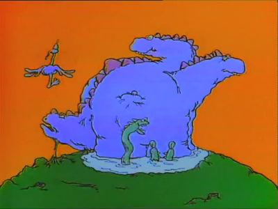 "Chevron ""Dinosaur"" Restored"
