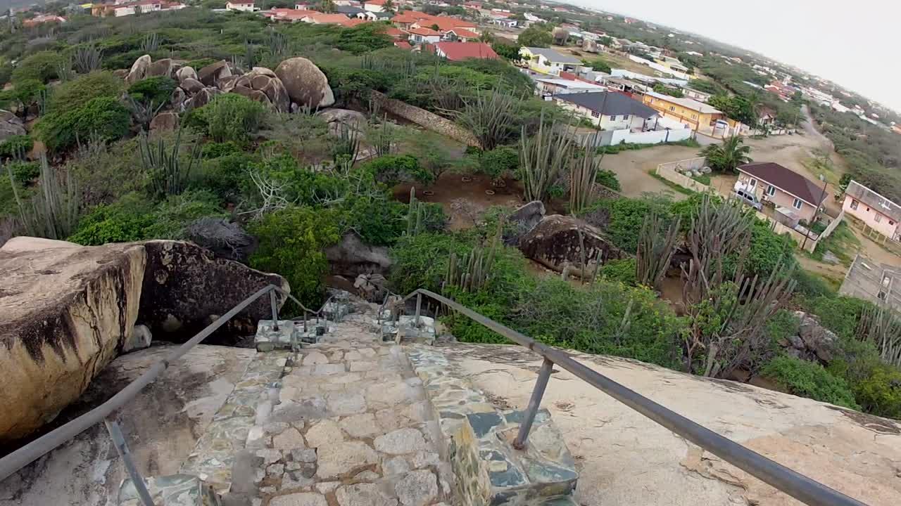 Aruba, Climbing Casibari