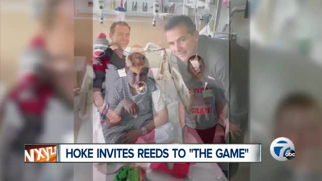 Brady Hoke invites young cancer patient who named tumor  Michigan  to see Buckeyes vs. Wolverines