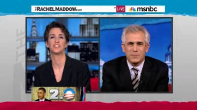 Rachel Maddow  Has Obama figured out Republican recalcitrance for second term