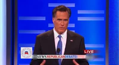 Conan – Romney Mulls Over Campaign Slogans