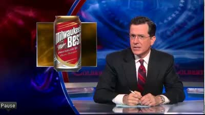 COLBERT REPORT Stephen Colbert Receives a Sicilian Warning 06-06-12