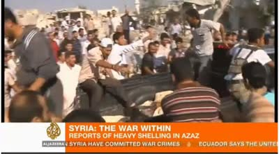 DOZENS DIE IN SYRIA AIR RAID