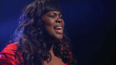 Glee's Amber Riley: Whitney Houston Tribute