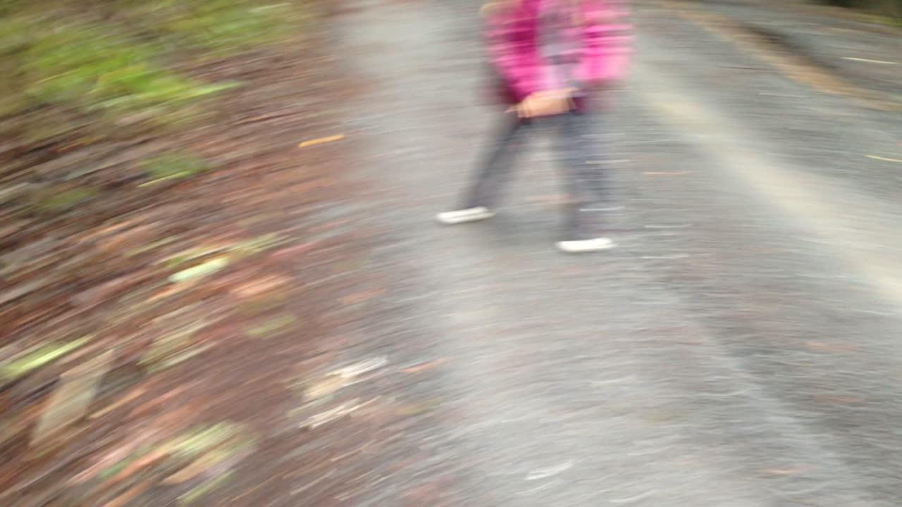 Mushroom chucking — the kids' favorite forest pasttime