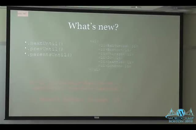 Jim Doran: jQuery in WordPress