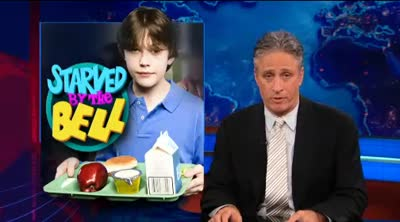 THE DAILY SHOW &#8211; SAVED BY THE BELL