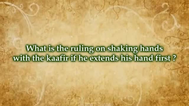 Ruling On Shaking Hands With The Kufaar – Al´Allâmah Muḥummed Ibn Ṣāliḥ al-ʻUthaymīn