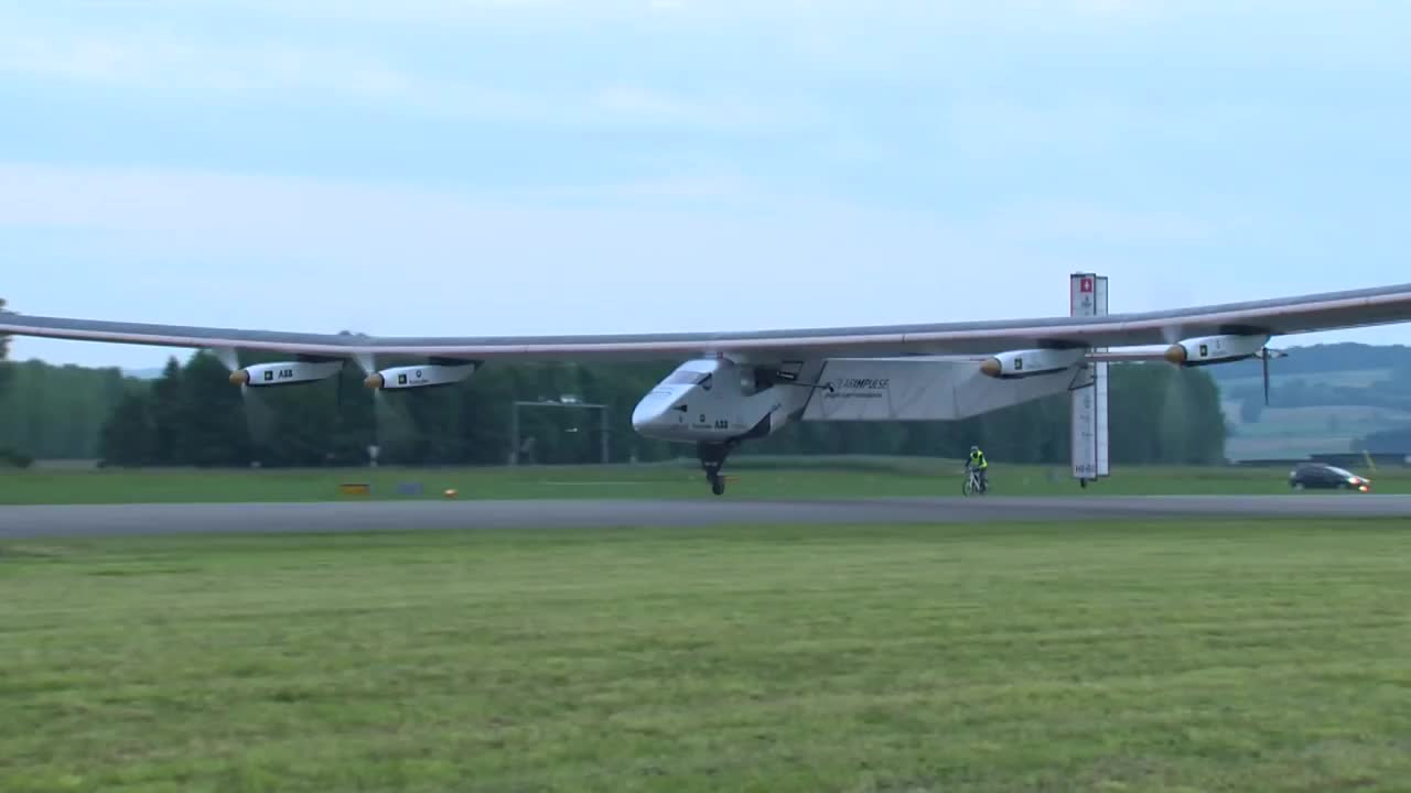 Solar Impulse 2 Airplane First Flight – Maiden Flight Best-Of