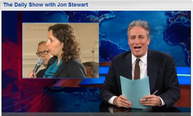 DAILY SHOW with JOHN STEWART