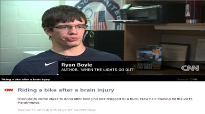 RYAN BOYLE SEEKS PARALYMPICS