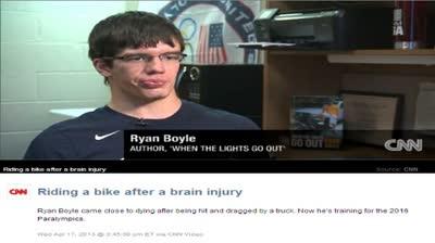 RYAN BOYLE SEEKS PARALYMPICS
