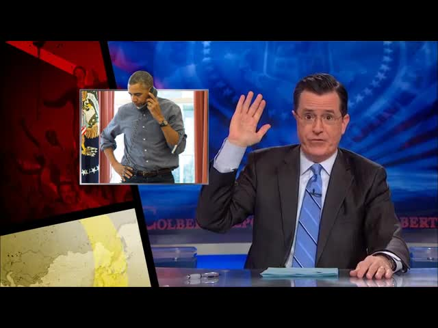 The Colbert Report – Cold War Update  Obama's Ukraine Response