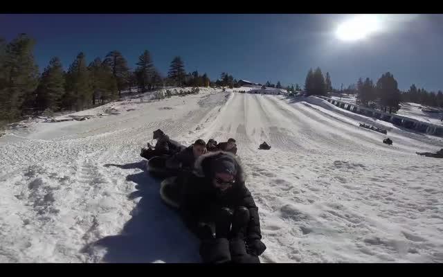 VTHS Snow Tubing
