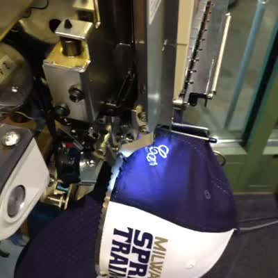 Embroidery Machine at Miller Park
