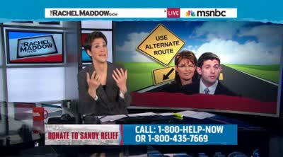 Rachel Maddow  Checkable facts expose end-of-campaign bluster