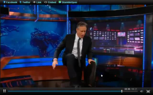 The Daily Show – Jon Stewart – The Election