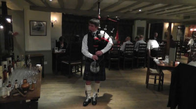 Burns Night Celebrations at The Wild Boar