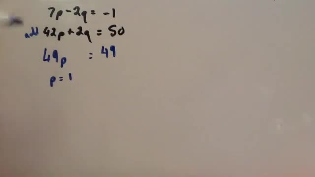 Simultaneous Equations elimination